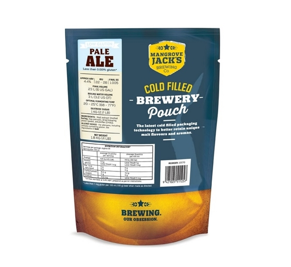 MJ Traditional Gluten Free Pale Ale 23L