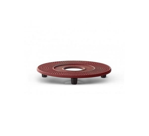 Dessous de plat Xilin fonte rouge