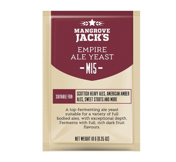 Biergist Mangrove Jack's Empire Ale M15 10g