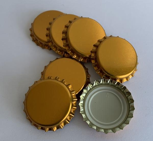 Capsules couronnes cuivre 26mm 100p