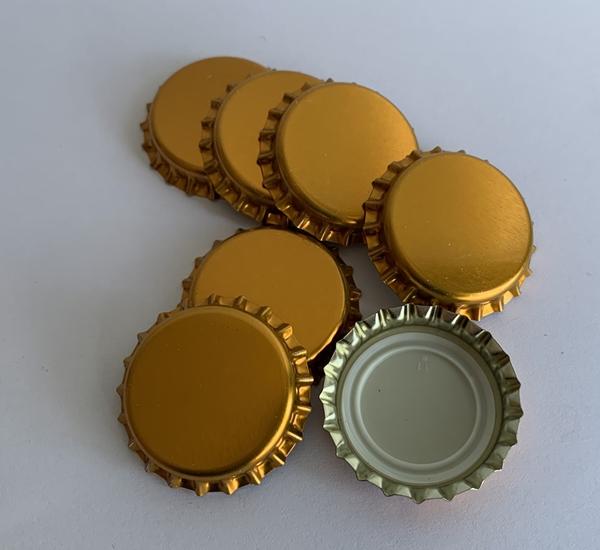 Capsules couronnes cuivre 26mm 500p