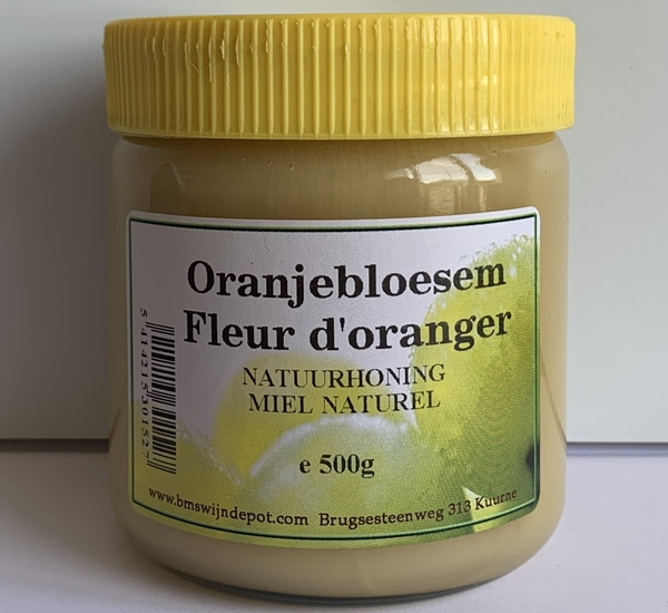 Miel fleur d'oranger 500g