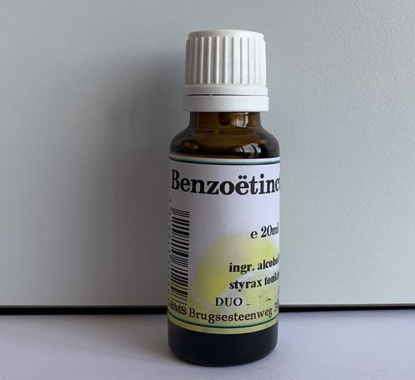 Benzoëtinctuur 20ml