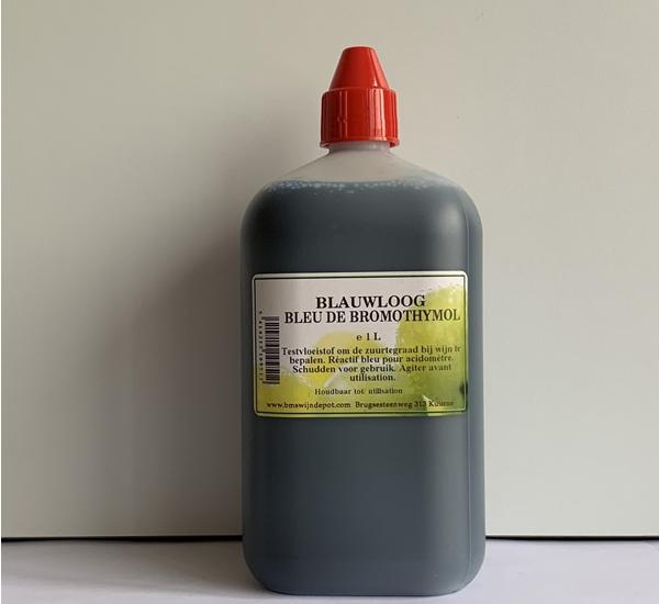 Réactif bleu pour acidomètre 1L
