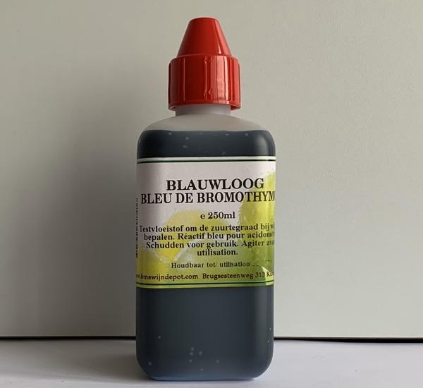 Blauwloog voor acidometer 250ml.