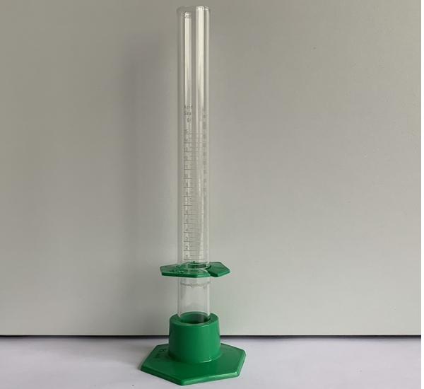 Eprouvette graduée pour acidomètre 20g