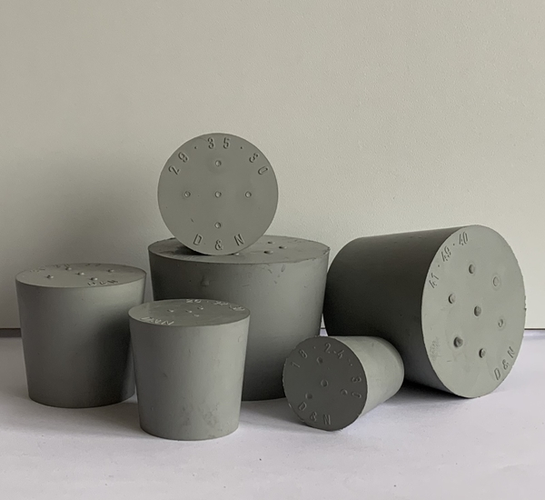 Bouchon plein gris sans trou 31/38 H35