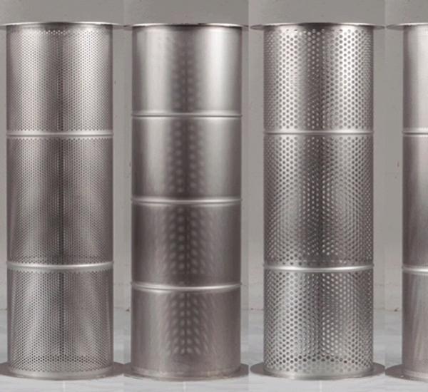 Inox zeef voor professioneel ontpitter 5mm