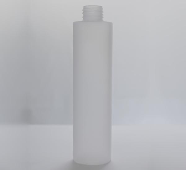 Fles PP mat 200ml zonder dop (24mm)