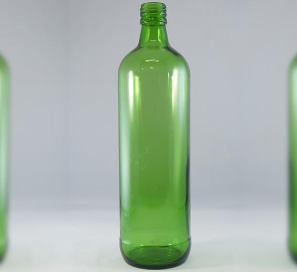 Geneverkruik groen glas 1L