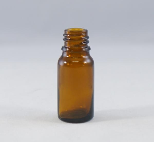 Fles 10ml bruin glas zonder dop (16mm)