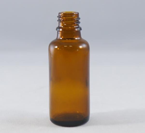 Fles 30ml bruin glas zonder dop (16mm)
