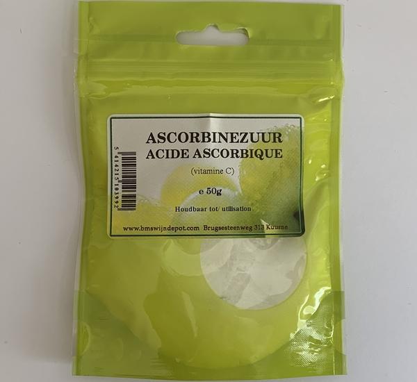 Ascorbinezuur (vit C.) 50g