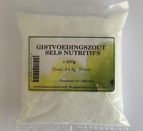 Sels nutritifs en granules 250g