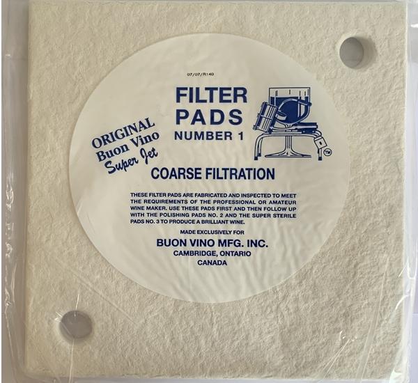 Plaques filtrantes pour super jet grov 3p