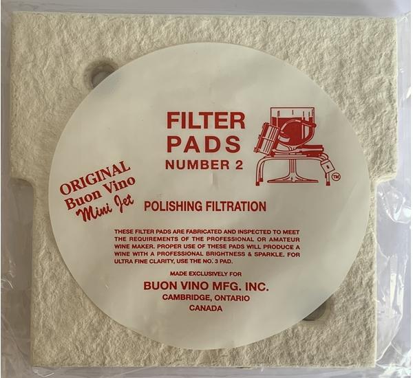 Filterschijf voor mini jet fijn 3st
