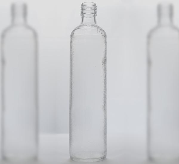 Geneverkruik wit glas 70cl