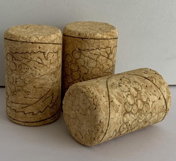 Bouchon vin agglo 38 x 23 100p