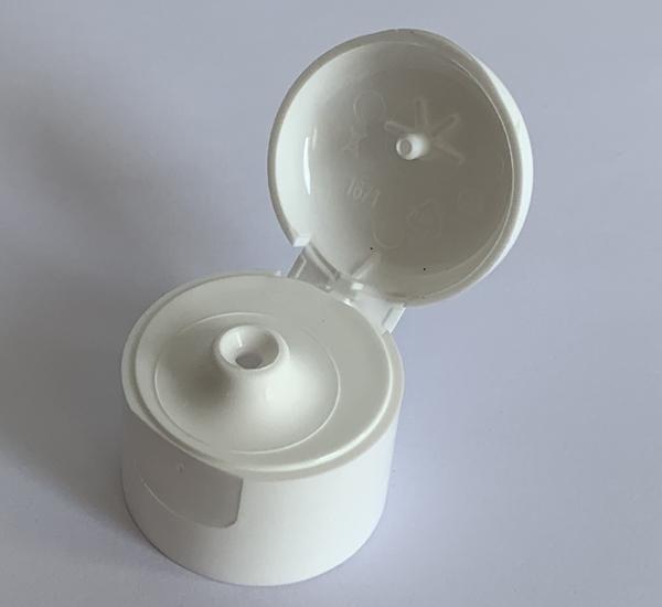 Capsule blanc à clapet  (28mm)