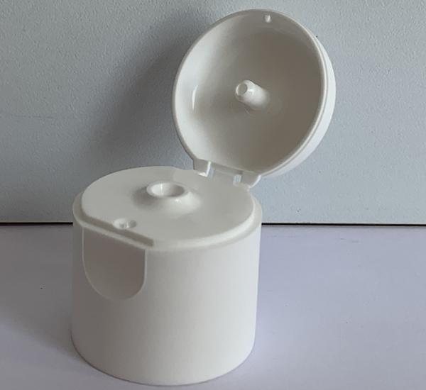Capsule blanc à clapet 24mm