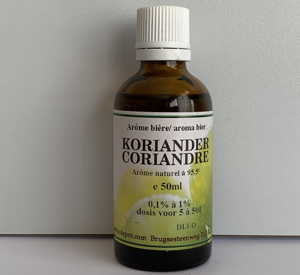 Koriander natuurlijk aroma 50ml