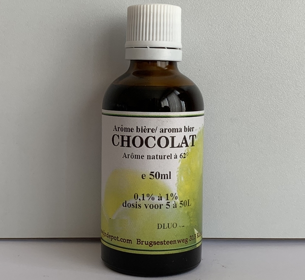 Chocolade natuurlijk aroma 50ml