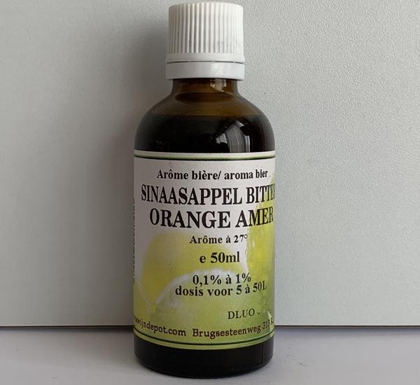 Sinaasappel bitter aroma 50ml