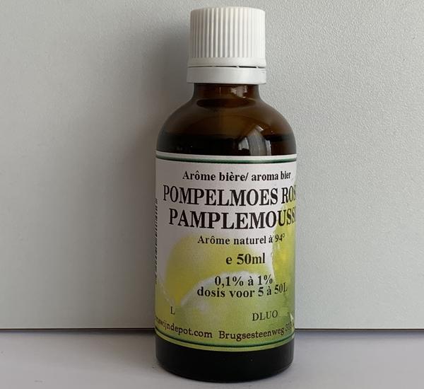 Arôme naturel pamplemousse rose 50ml