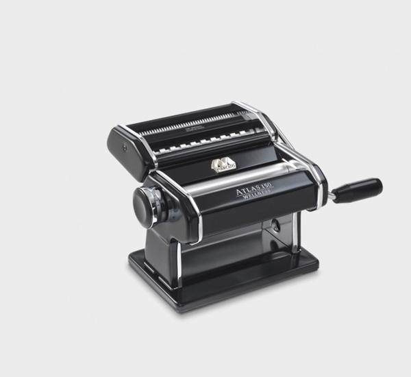 Machine à pâtes Atlas (spaghetti+tagliatelli) noir - Marcato