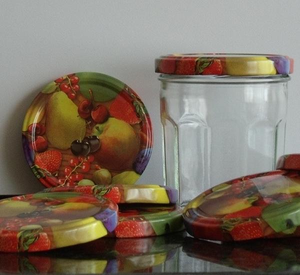 Deksel twist off 82 fruitmotief 100st