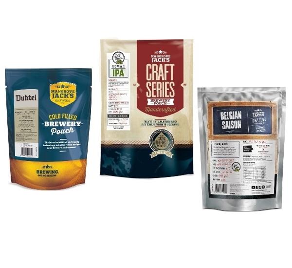 Kits pour la fabrication de la bière