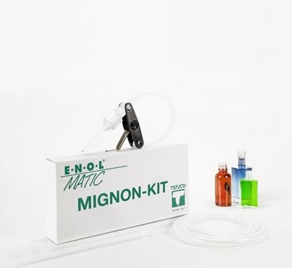 Standaard kit Mignon Enolmatic - kleine flesjes 5ml-100ml