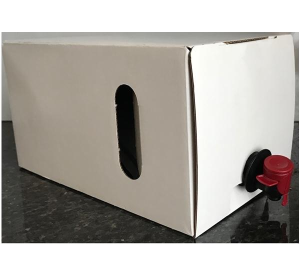 Bag-in-box 3L compleet witte doos