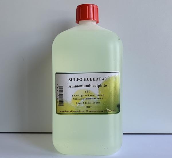 Sulfo Hubert 40 - ammonium bisulphite 1L