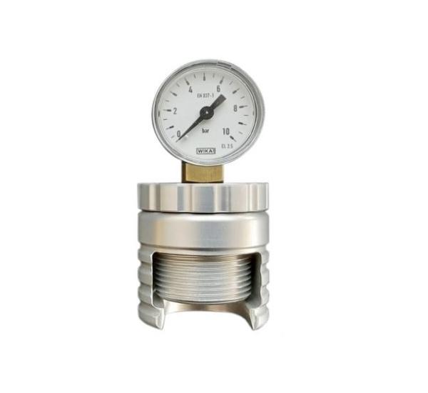 Aphrometer voor kroonkurk 29mm 0-10 bar